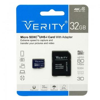 کارت حافظه 32 گیگ Verity