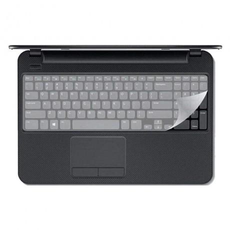 محافظ کیبورد لپ تاپ شفاف 15 اینچ