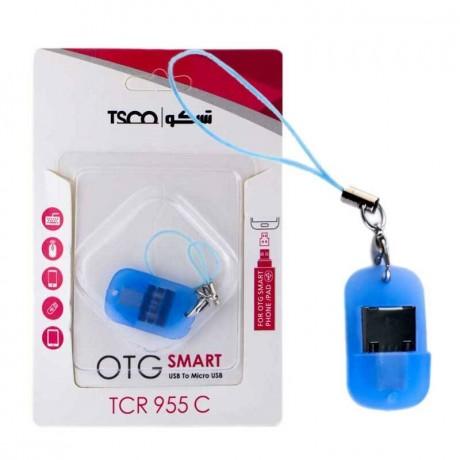 تبدیل OTG MicroUSB تسکو مدل TCR955 به همراه کیف