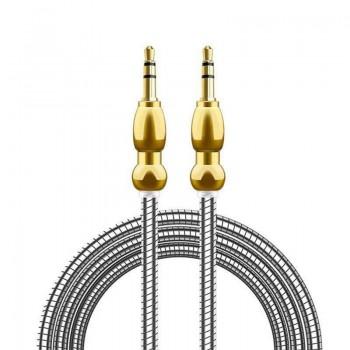 کابل تمام فلزی AUX 1m شرینک