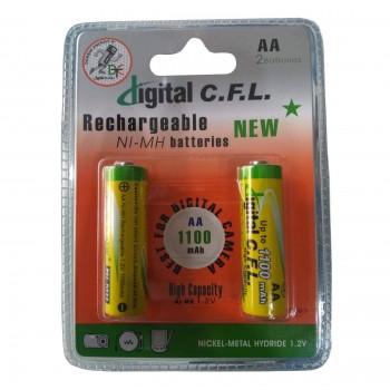 باتری قلمی قابل شارژ...
