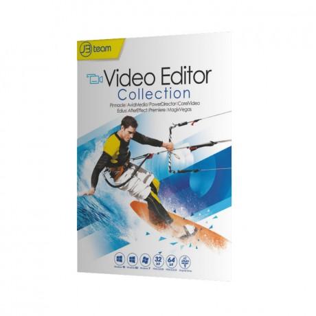 مجموعه نرم افزار Video Editor نشر جی بی